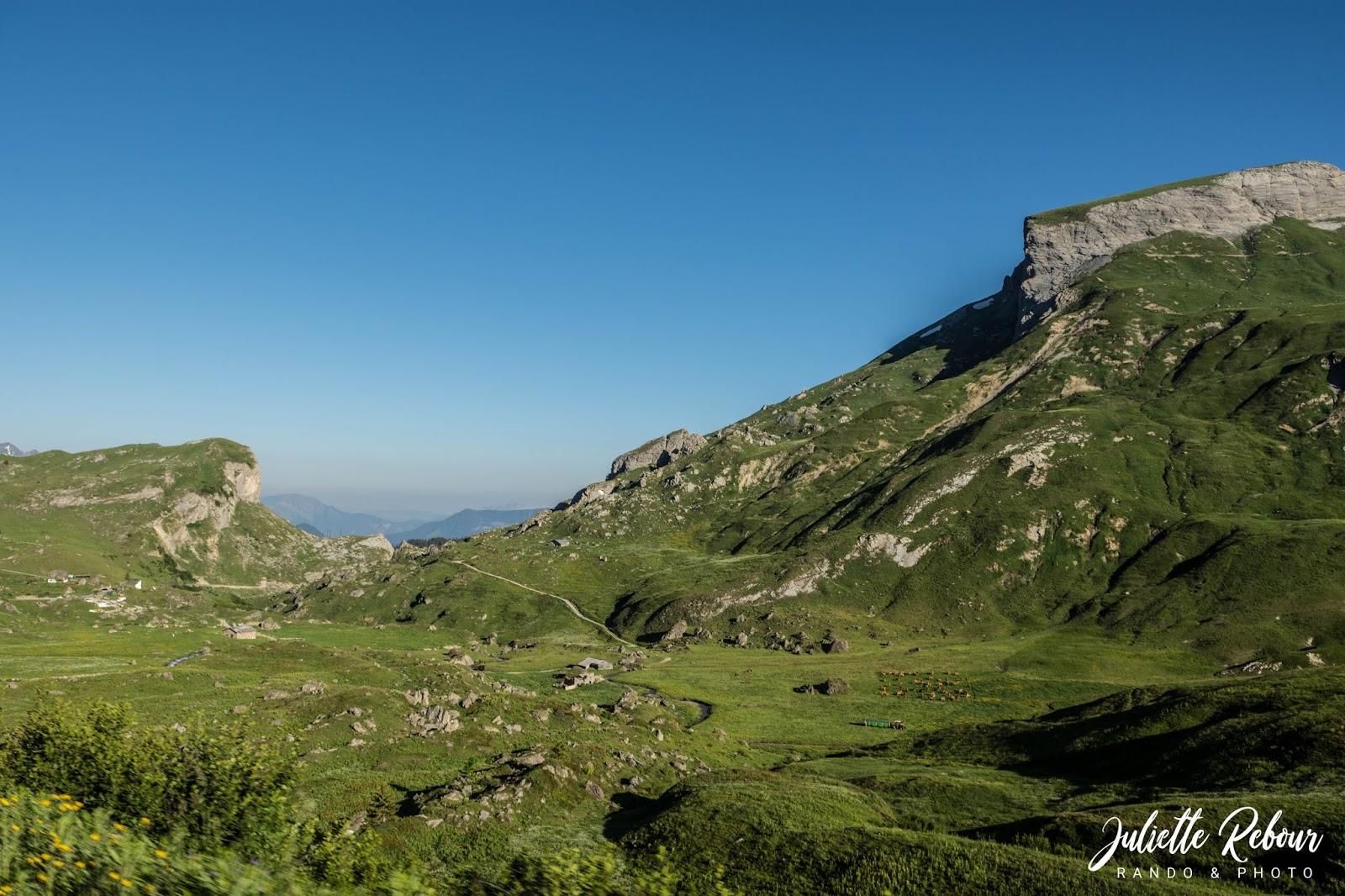 Beaufortain et Tarentaise, randonnée en savoie