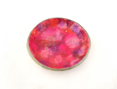 Pink Ring Dish now available at Lottie of London Jewellery