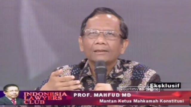 Mahfud MD: Penguasa yang Otoriter Selalu Memonopoli Informasi
