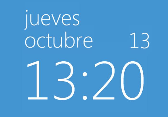 Horloge bureau windows 10 - Horloge pour bureau windows 7 ...