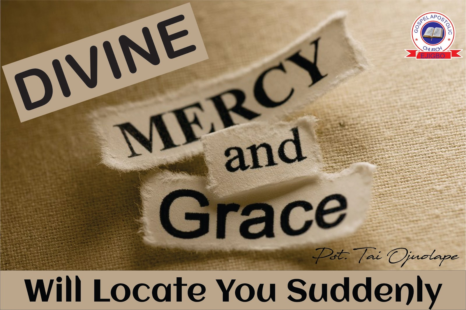 Grace versus mercy