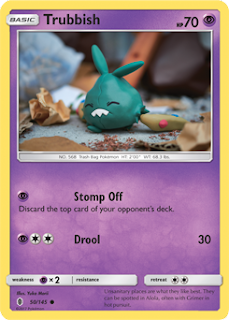 Trubbish Guardians Rising Pokemon Card