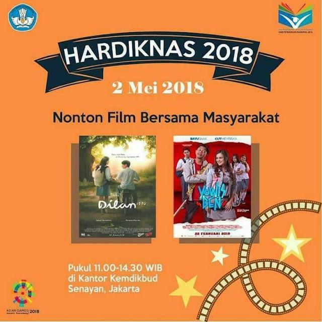 Hardiknas, Mendikbud Gelar Nobar Dilan, Netizen: Emang Ga Ada Film Lain?