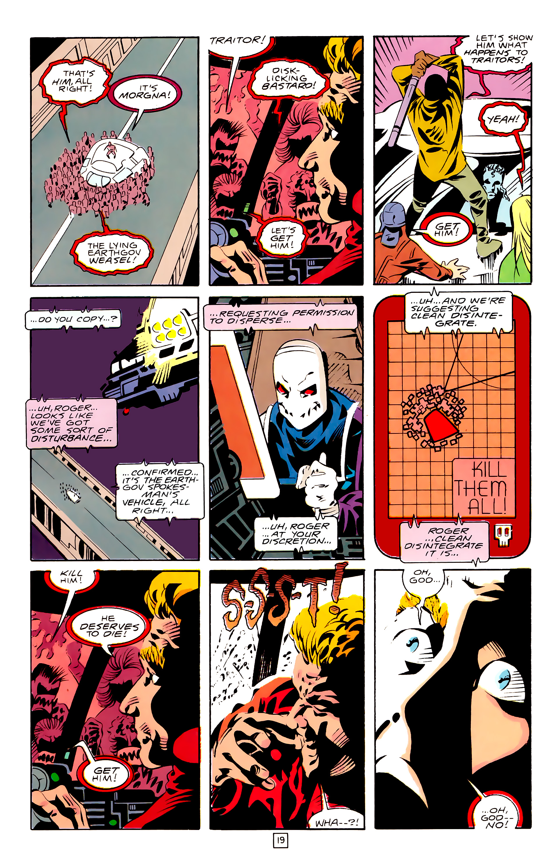 Legion of Super-Heroes (1989) 28 Page 19