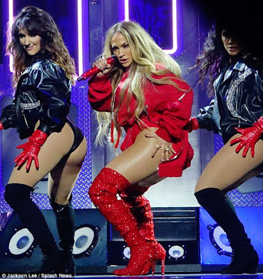 Jennifer Lopez, 48, flashes her butt in raunchy performance at TIDAL X benefit concert (photos)
