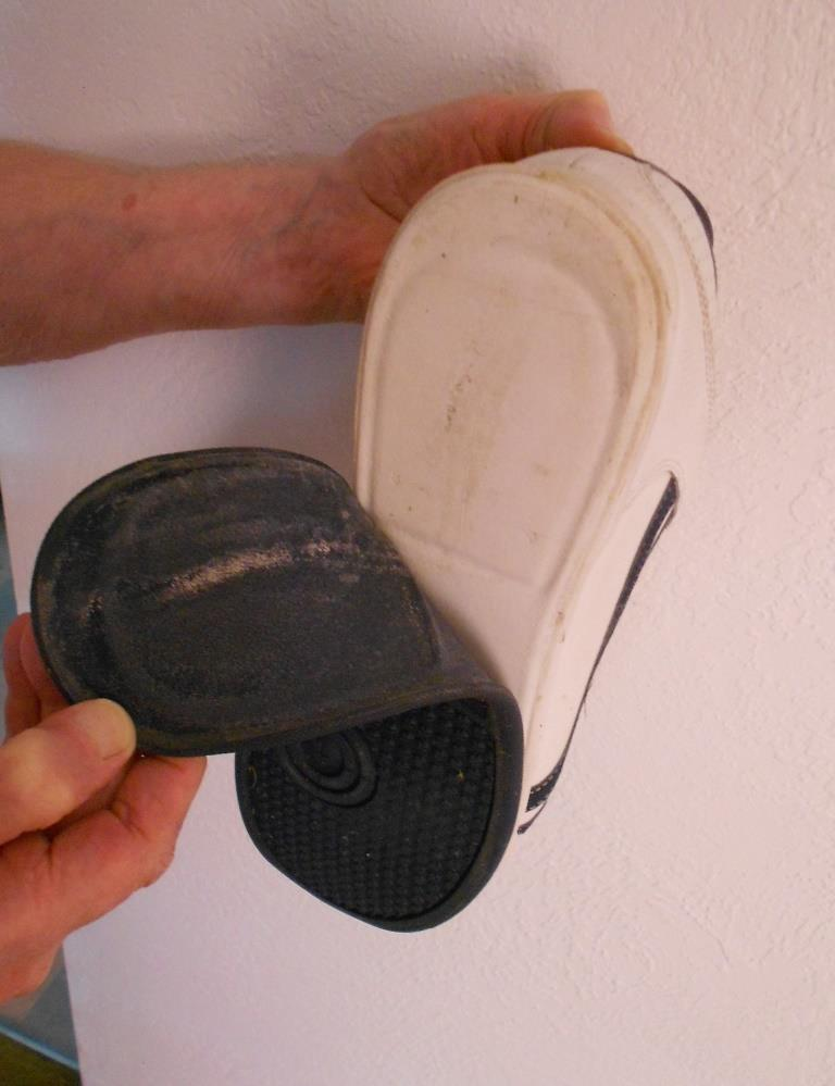 One Reason Consumers Get Inferior Products shoe soles lifted