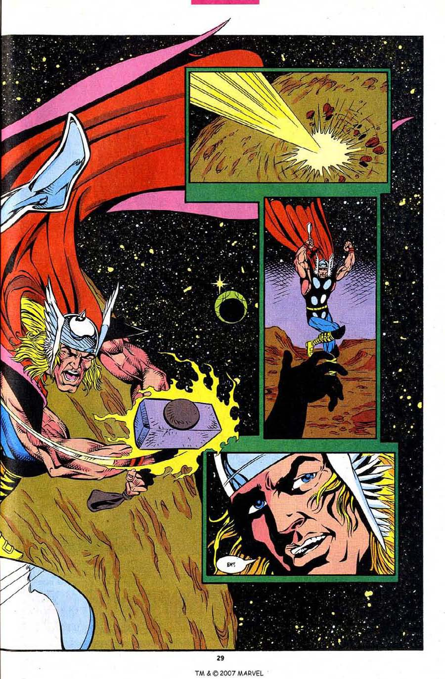 Read online Silver Surfer (1987) comic -  Issue #86 - 31