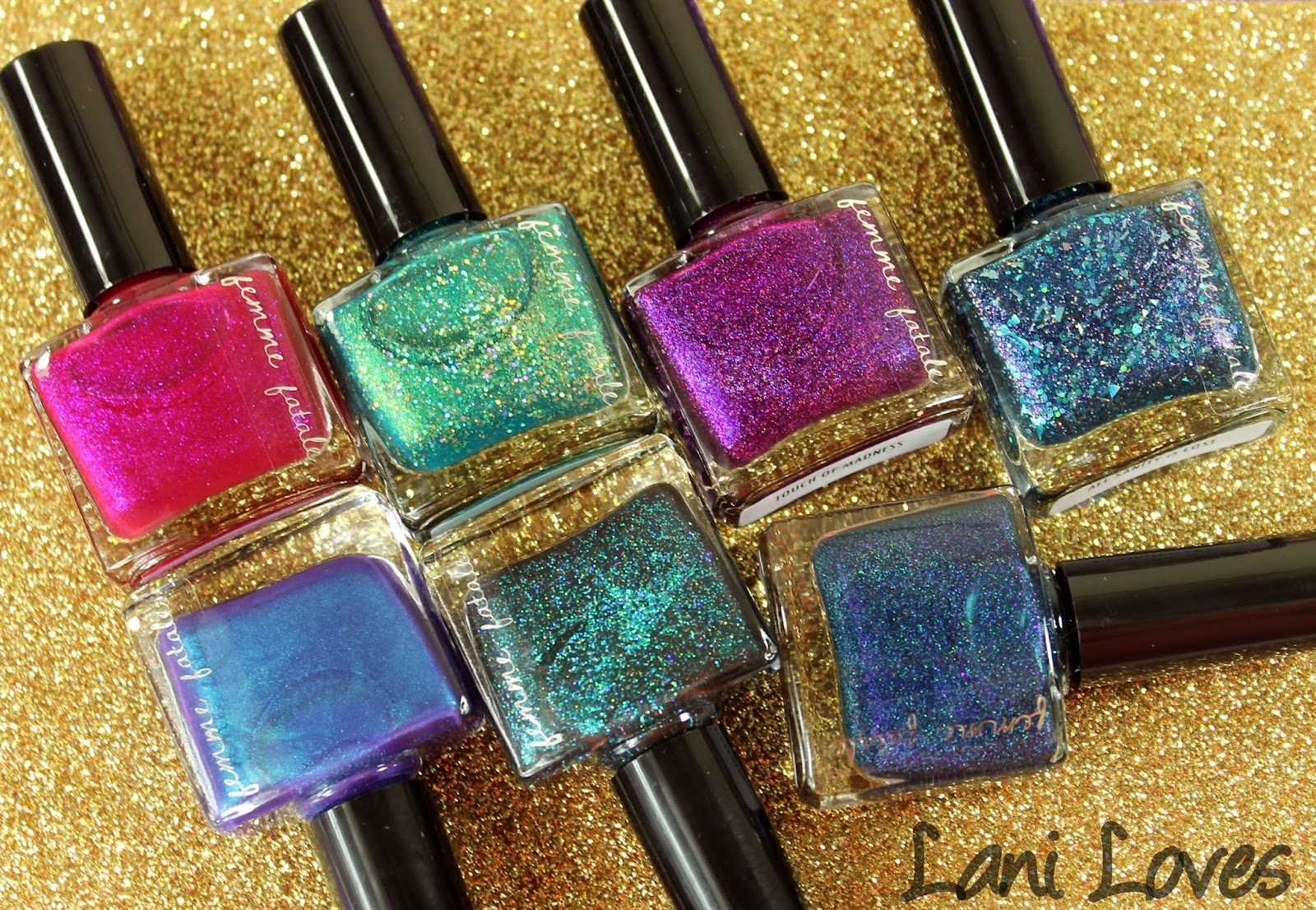 Femme Fatale Cosmetics January Presale Nail Polish Collection Swatches & Review
