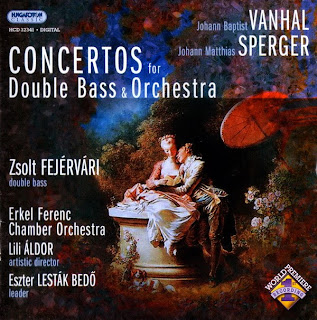 Vanhal & Sperger: Double Bass Concertos