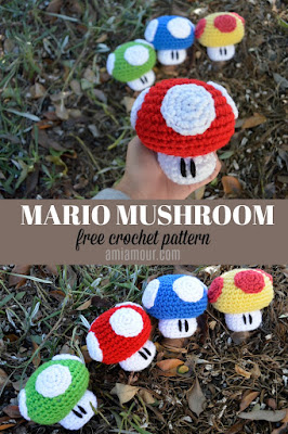 free mario crochet patterns