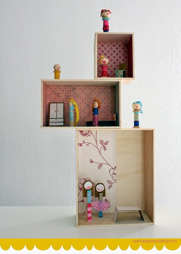casita de muñecas modular