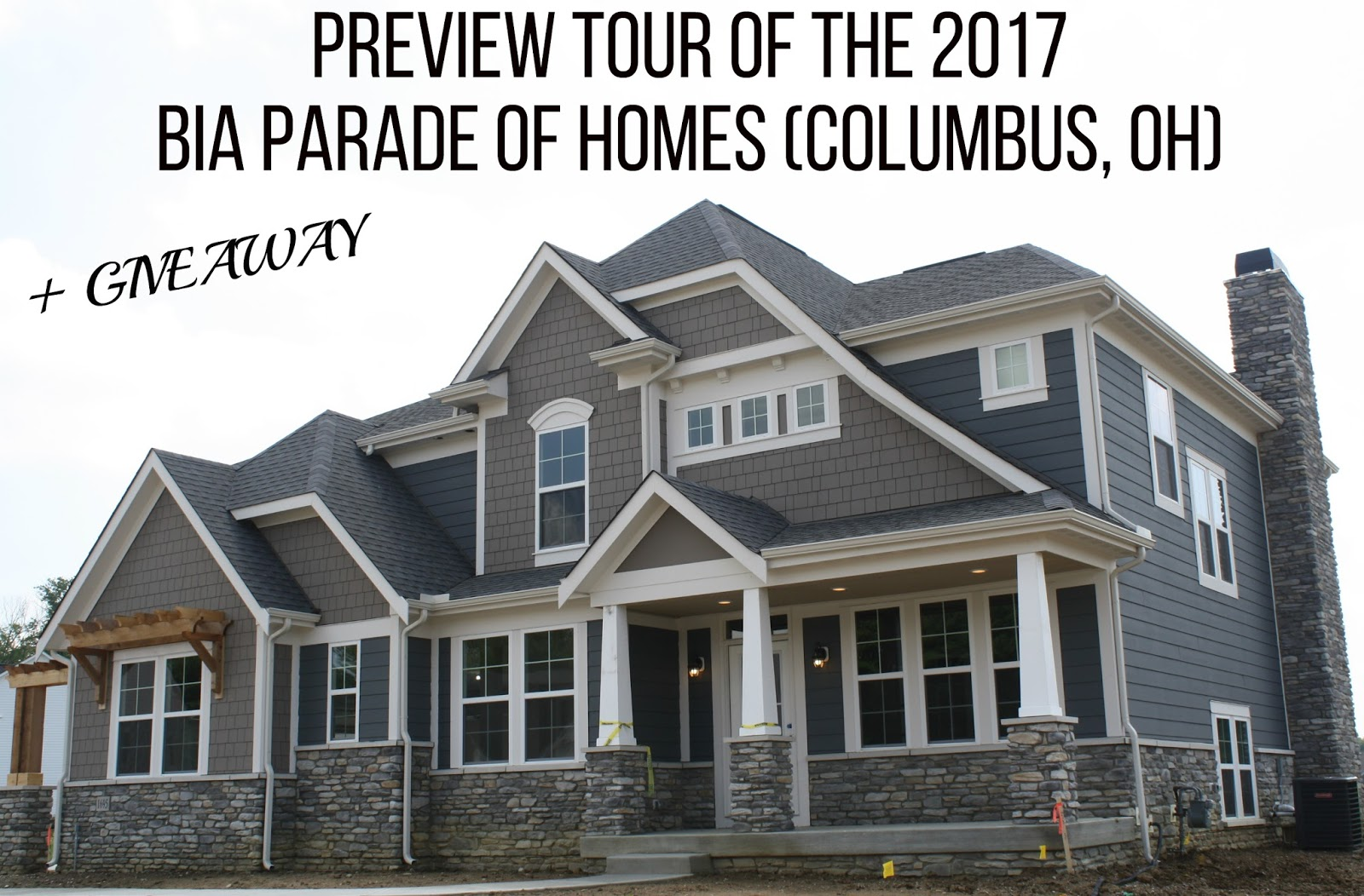 Bg by christina lifestyle preview tour of the 2017 bia for Central ohio home builders