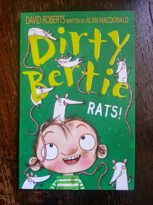 Dirty Bertie: Rats! From the Little Tiger Press review