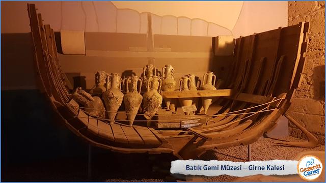 Batıik-Gemi-Muzesi-Girne-Kalesi