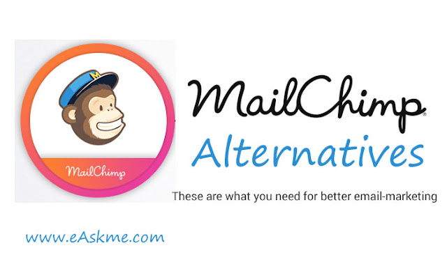 MailChimp Alternatives: eAskme