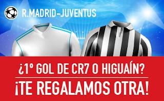 sportium Promocion champions Real Madrid vs Juventus 11 abril