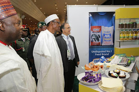 President Buhari begs Nigerians to patronize made in Nigeria goods