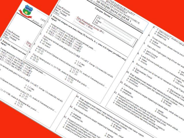 Soal Ulangan Harian (UH) IPS Kelas 6 Semester 2 Lengkap
