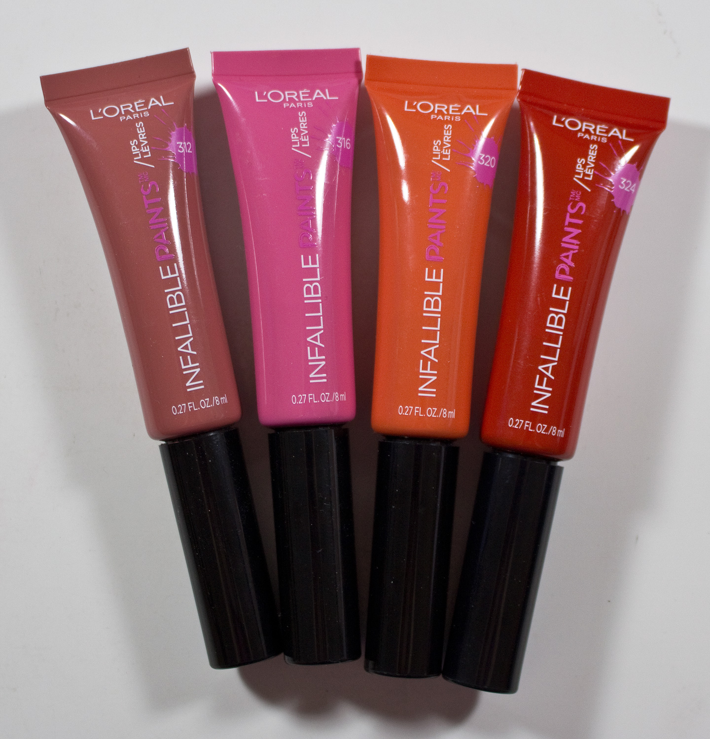 Review & Swatches: LOreal Infallible Paints #