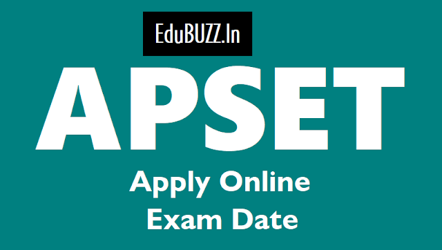 apset 2018 apply till may 2,apset exam on july 1,apset online application from,apset exam date,apset hall tickets,apset results
