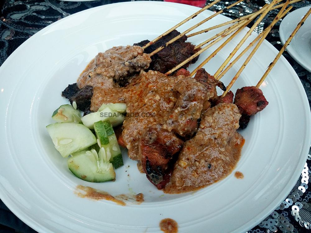 Makanan pilihan berbuka kat Kapal Cruise Tasik Putrajaya