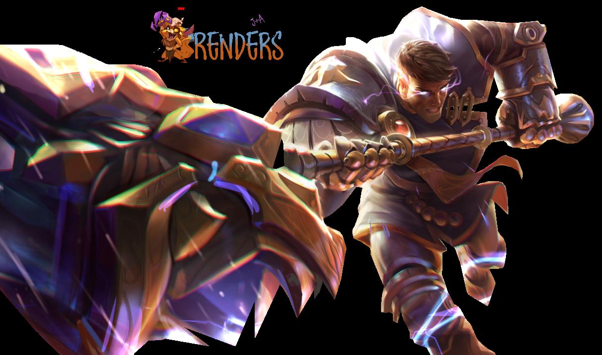 RENDER Jayce Brighthammer