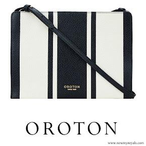 Meghan Markle carried Oroton Avalon Zip Top Crossbody