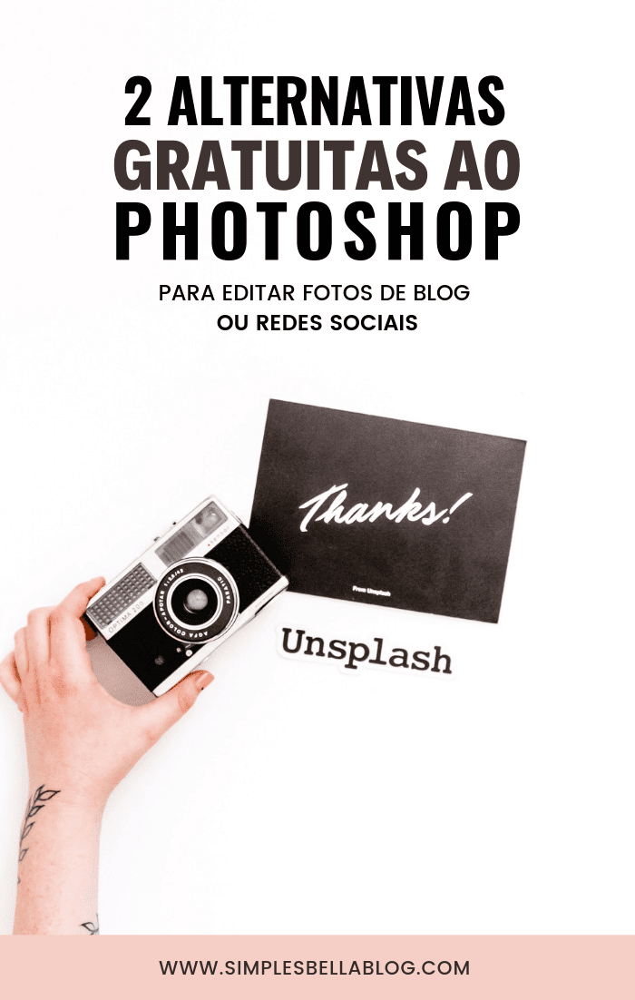 Editores de foto: 2 alternativas gratuitas ao Photoshop