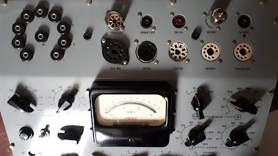 METRIX 310 D lampemetre contrôle lampe valve tube électronique