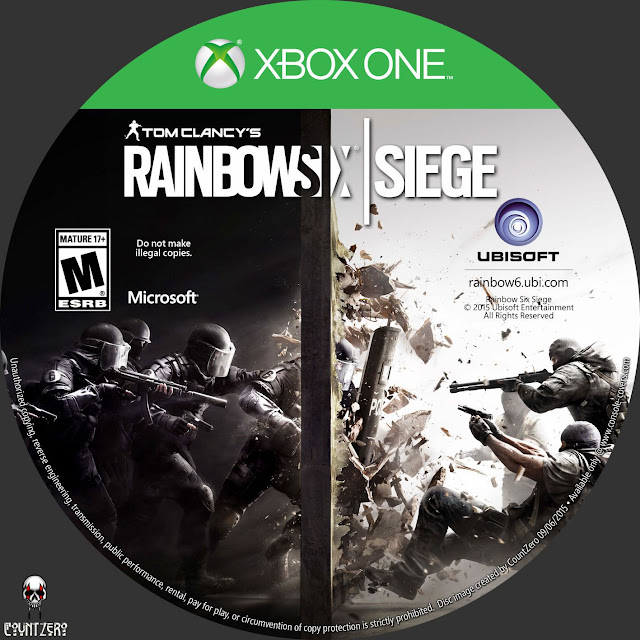 Label Tom Clancys Rainbow Six Siege Xbox One