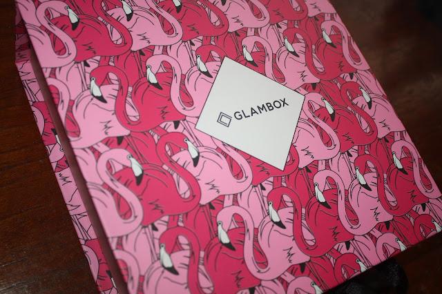 Caixa Glambox de novembro de 2016 - Amei