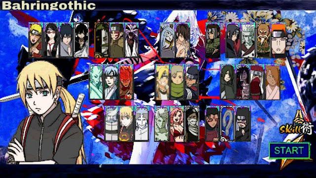 Download Naruto Senki Mod Donut V6 Full Character Apk Game Android Terbaru