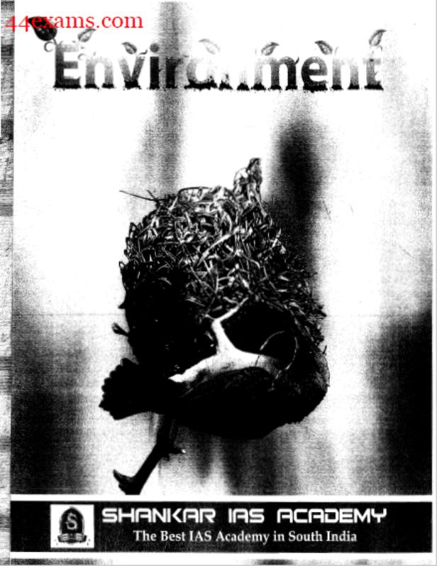 Environment by Shankar IAS Academy : For UPSC Exam PDF Book