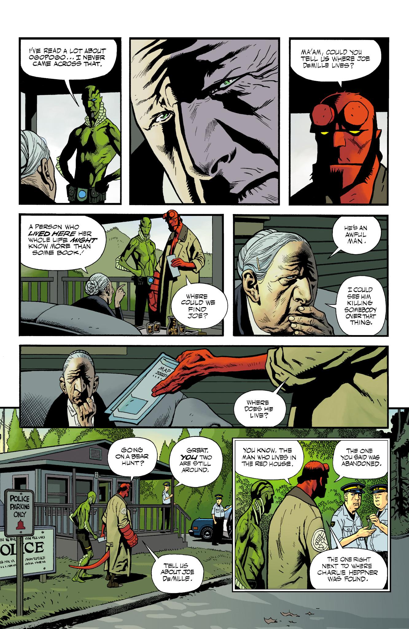 Read online Abe Sapien comic -  Issue #23 - 15