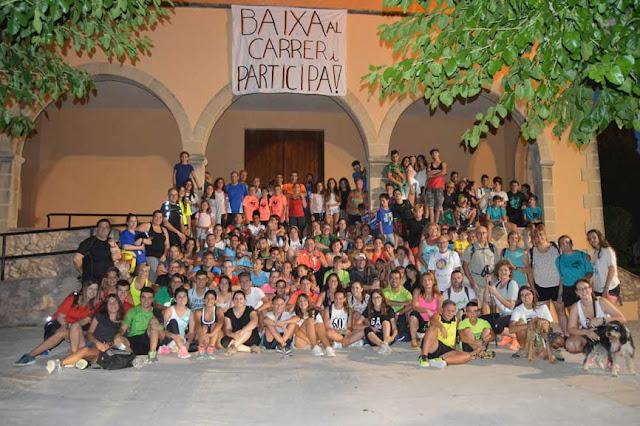 Esguard de Dona - Pujada al Castellot 2017 - Festa Major Sant Jaume dels Domenys