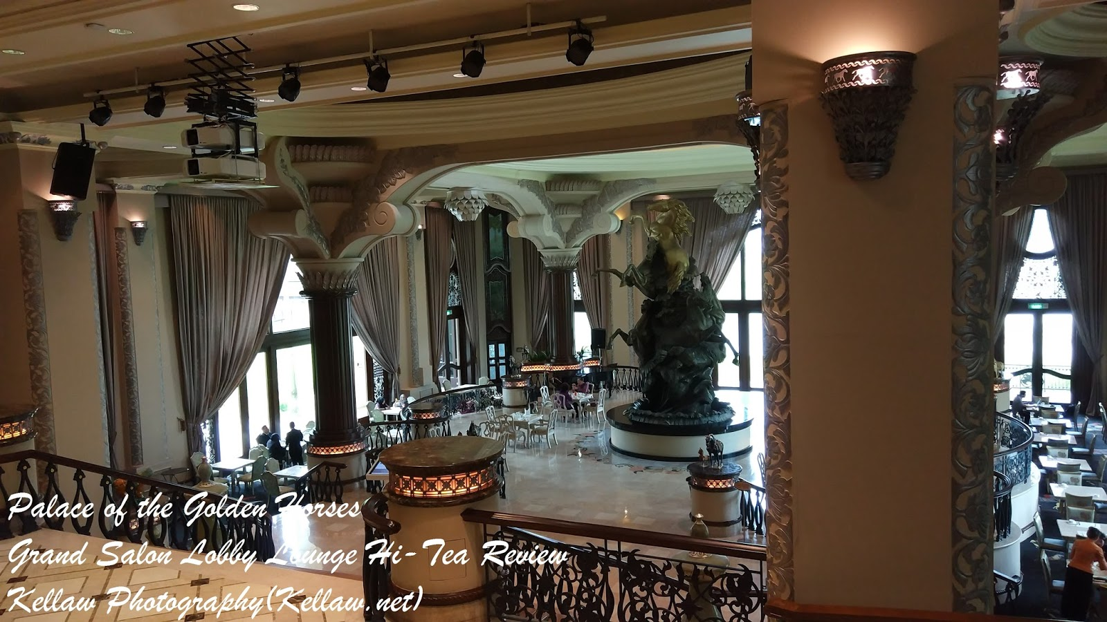 You should try the Grand Salon Lobby Lounge s Heavenly High-Tea at the  Palace of the Golden Horses 3b50657759