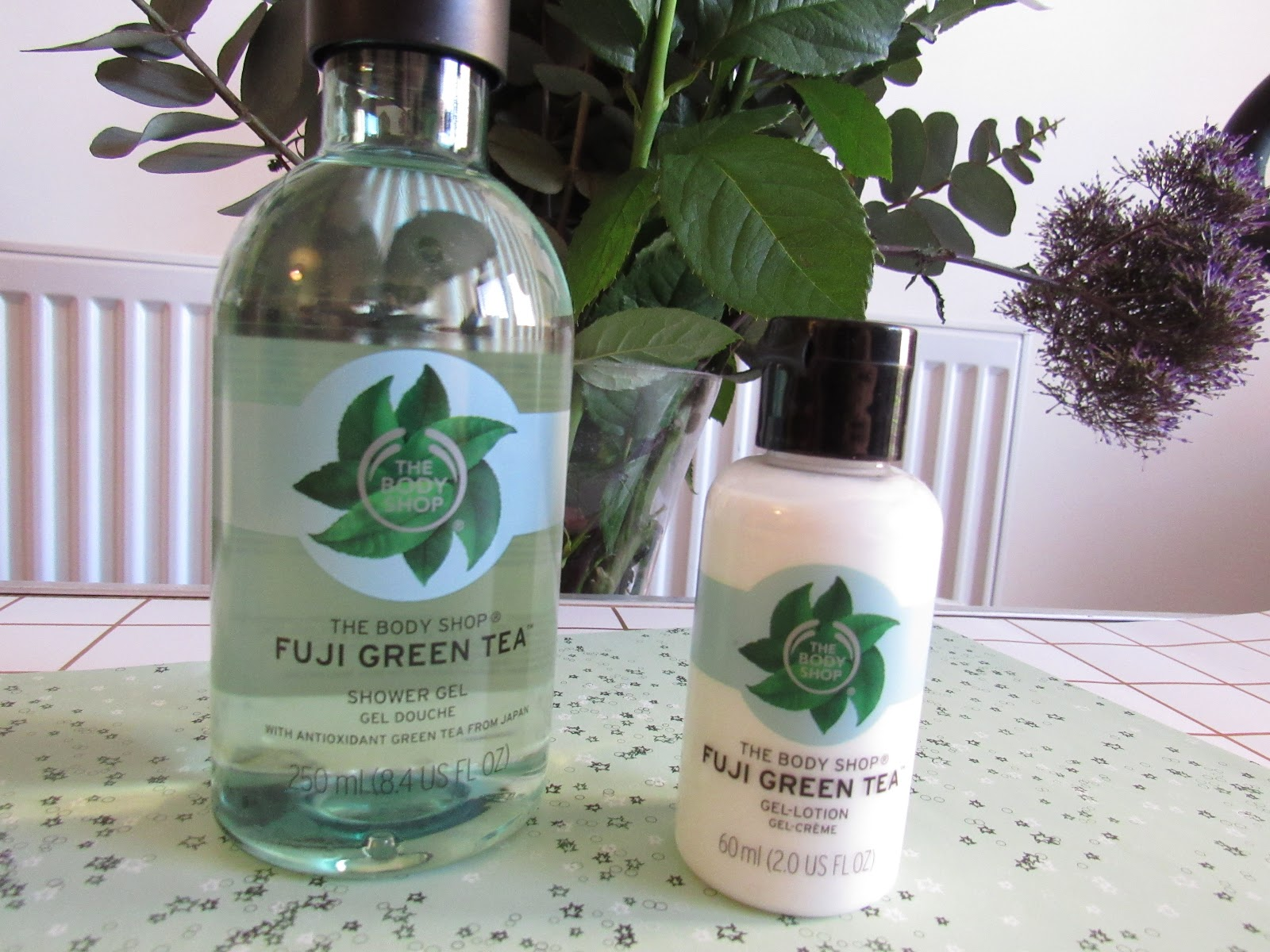 Blooming Fiction, lifestyle blog, The Body Shop Fuji Green Tea Skincare Range