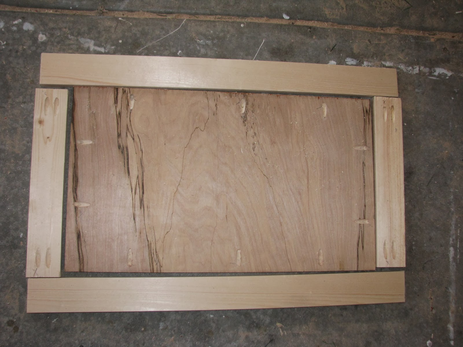 raised panel door templates - door making jig diy shaker cabinet doors kreg jig