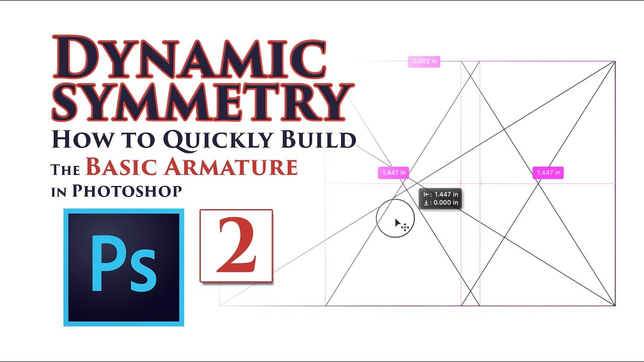 Dynamic Symmetry: How to Quickly Build the Basic Armature in Photoshop