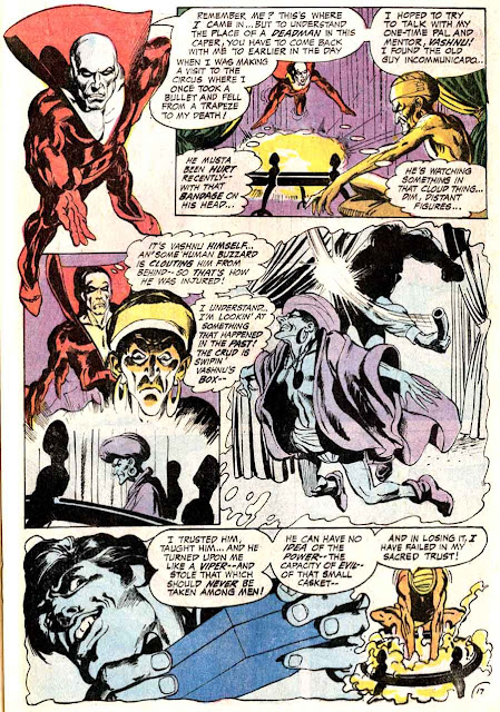 Challengers of the Unknown v1 #74 deadman dc 1970s bronze age comic book page art by Neal Adams