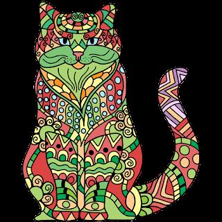 Katzen Malbuch Für Erwachsene Neue Ausmalbilder