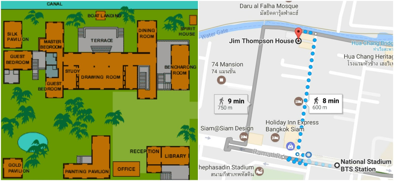 The jim thompson house bangkok for Floor 5 map swordburst 2