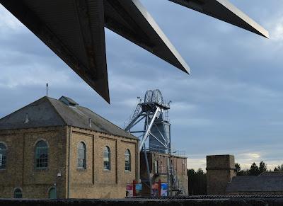 Woodhorn Museum near Ashington, Northumberland - Woodhorn exterior shot