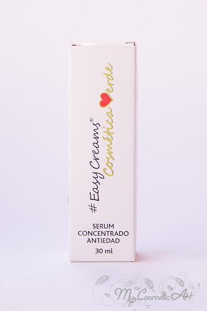 Easy Creams: Sérum antiedad y crema hidratante para piel mixta.
