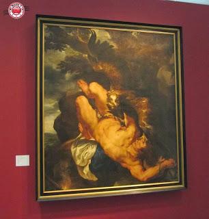 Obras en la Sala de Exposiciones Temporales, Louvre-Lens