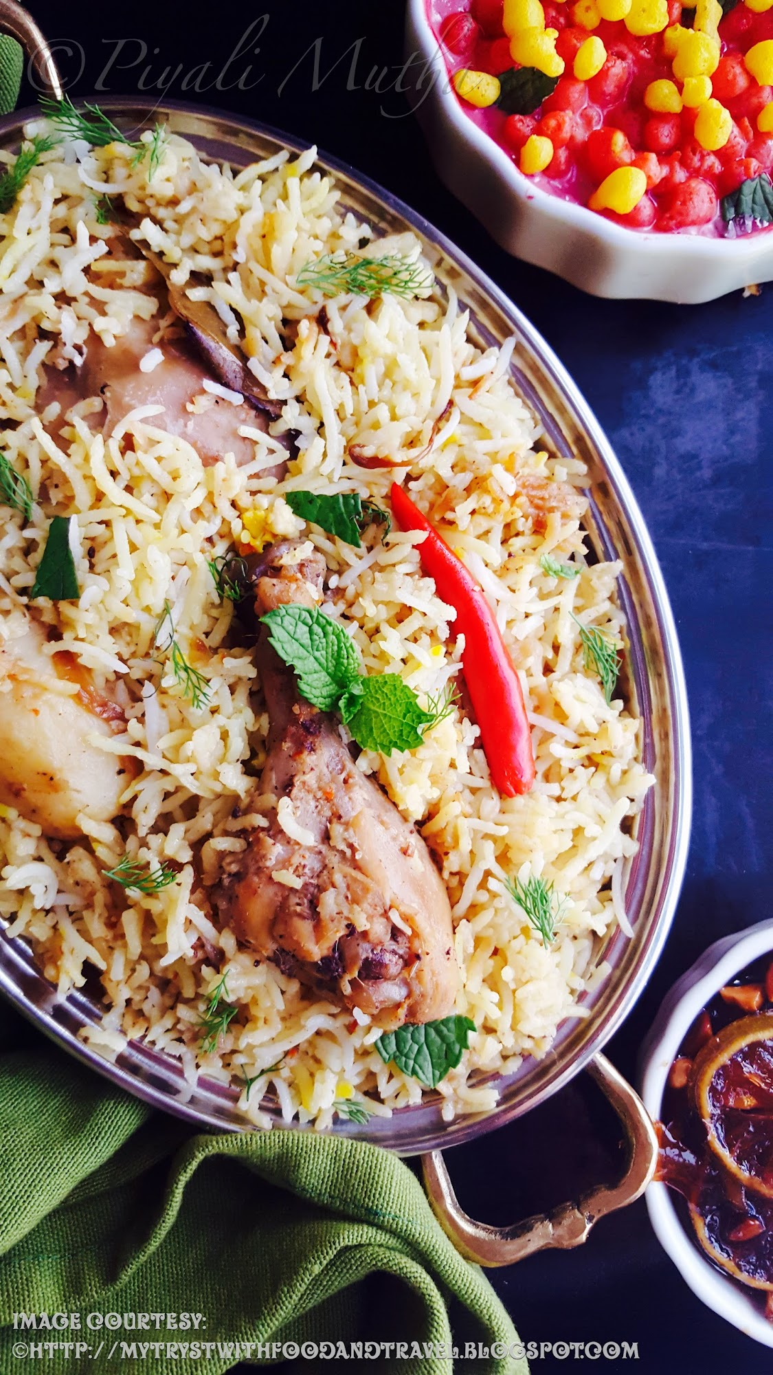 My Tryst With Food And Travel: Dhaka Style Kacchi Chicken Biryani Recipe / A Distinct Type Of ...