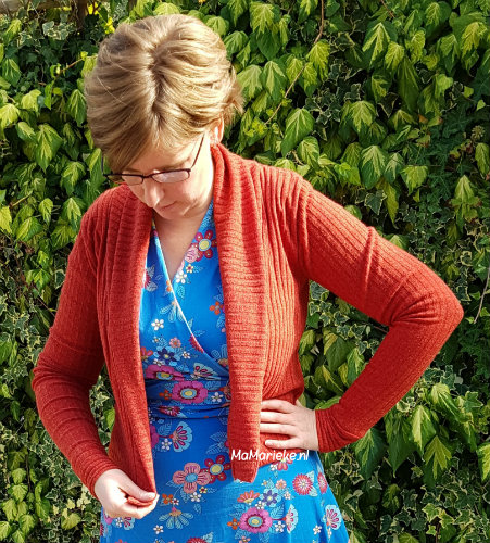 Cozy wrap cardigan Halla patterns
