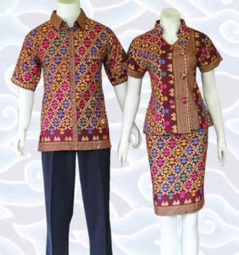 Model Batik Untuk Seragam Guru