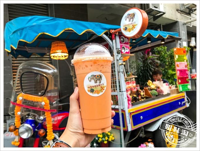誰說只有泰國才有道地泰式奶茶?高雄這裡也有手標泰國奶茶!-咕嚕咕嚕泰國奶茶