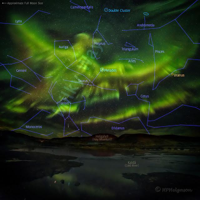 gambar phoenix aurora islandia